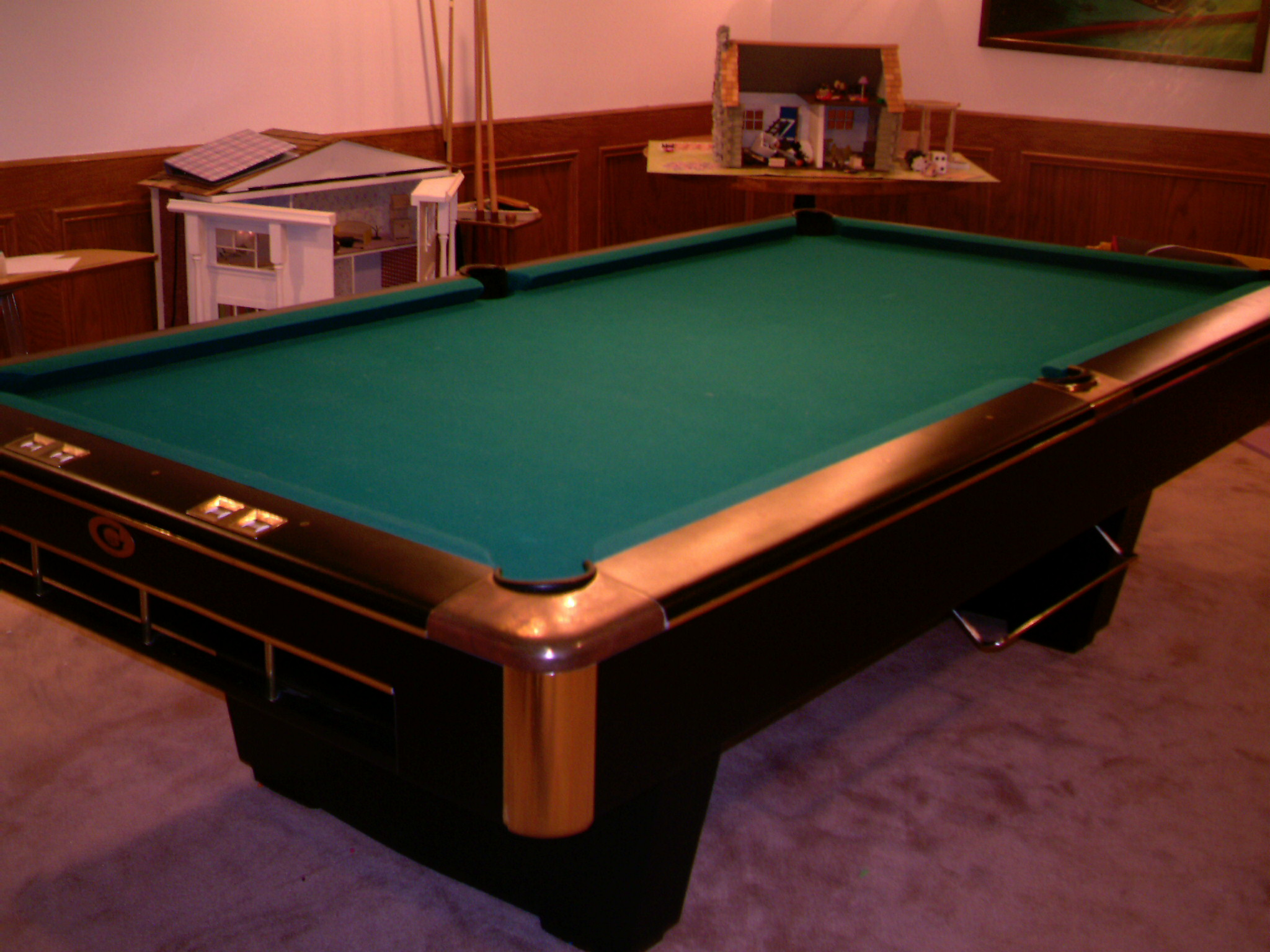 Pool Table Big G Gandy 9ft Pro Pd 5900 00 First 1699 00