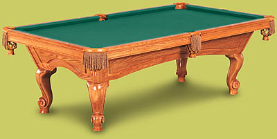 Schaffer Installations - Ballard pool table