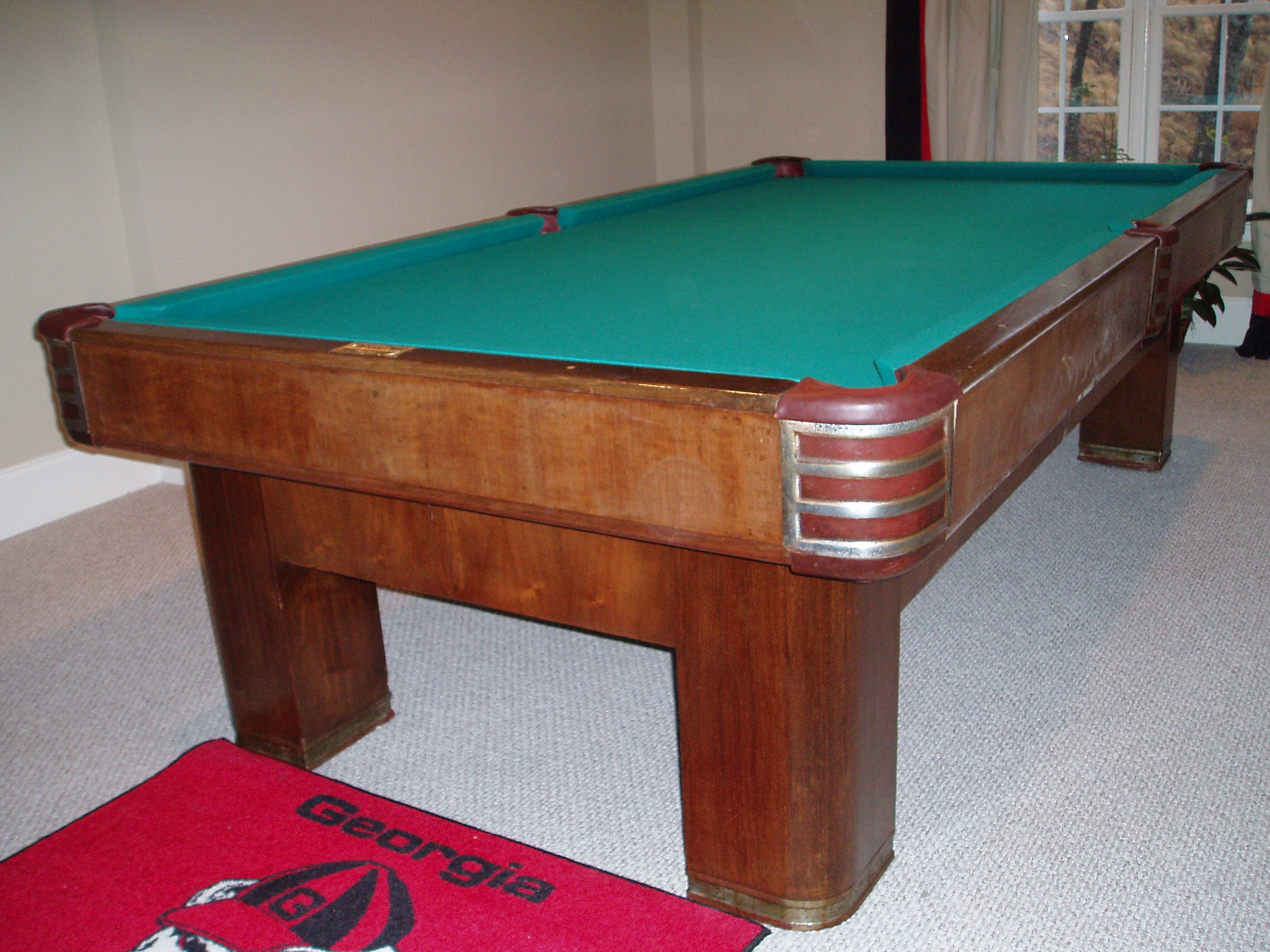 Brunswick Twentieth Century Renovation - Brunswick century pool table